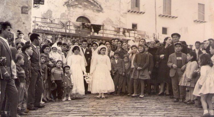 COME ERAVAMO. Matrimonio nella chiesa dell'Immacolata nel 1960