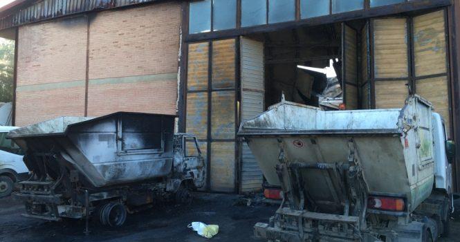 Incendio in magazzino a Cattolica Eraclea, morto operaio cinquantenne