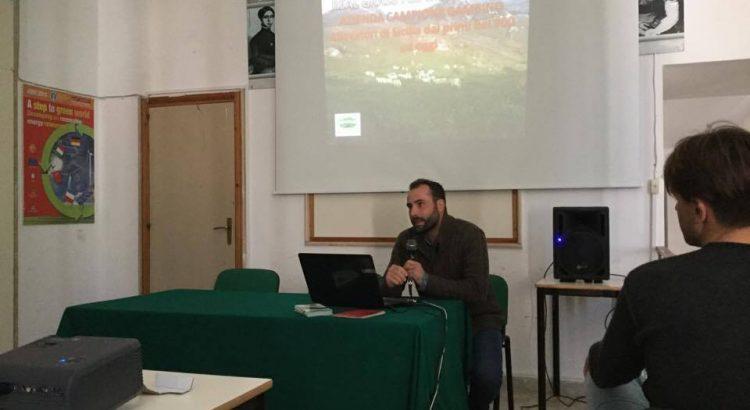 L'azienda cattolicese Campione Giuseppa  all'istituto commerciale M.Foderá di Agrigento sul tema Green Economy e sostenibilità ambientale e nuove forme di economia.