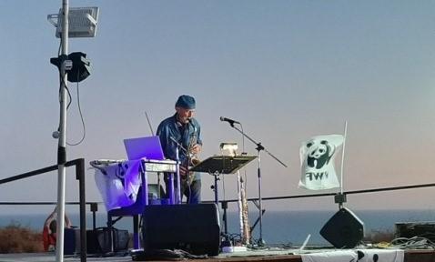 Al tramonto i sax di Filippo Portera incantano il pubblico di Eraclea Minoa