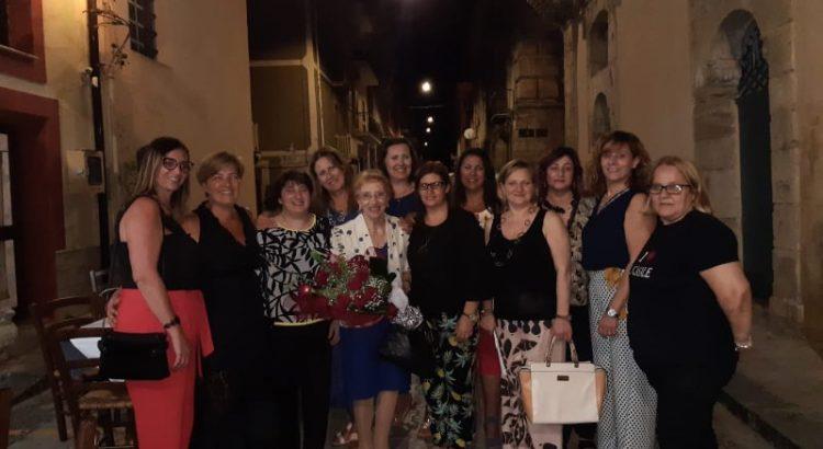 Insieme alla maestra Saverina Lo Bianco, 36 anni dopo le elementari