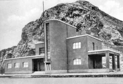 Edificio del Ginnasio costruito nel periodo fascista
