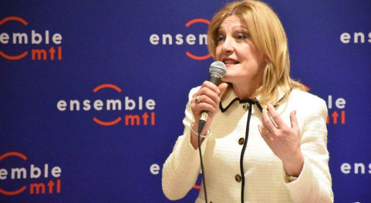 Angela Gentile figlia di immigrati cattolicensi candidata di Ensemble Montréal a Saint-Léonard