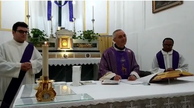 VIDEO. L'abbraccio virtuale dell' arciprete di Cattolica Eraclea don Giuseppe Pace, a tutta la comunità