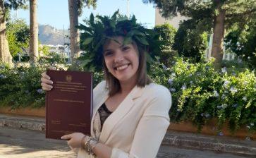 Tanti auguri a Enza Amato, neolaureata in Studi Storici e Filosofici con 110 e lode