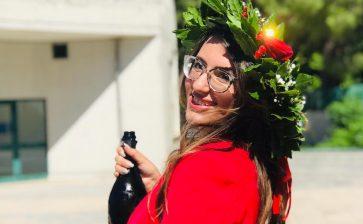 Auguri a Maria Zarelli neolaureata in Scienze del Turismo